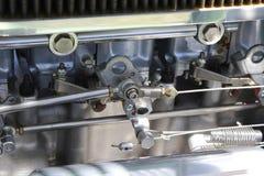 Het lichaam van het carburatorgaspedaal Royalty-vrije Stock Foto's