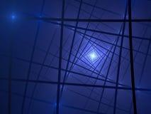 In het licht Stock Afbeeldingen