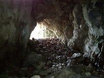 Het licht aan het eind van de tunnel royalty-vrije stock fotografie