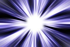 Het licht aan het eind stock illustratie