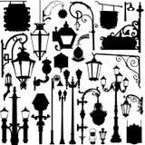 Het licht en het teken van de stad Royalty-vrije Stock Afbeelding