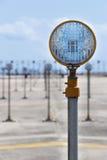 Het Licht van Approch van de baan Royalty-vrije Stock Foto