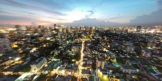 Het Licht van Bangkok Royalty-vrije Stock Fotografie