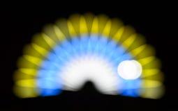 Het licht van Bokeh stock illustratie