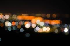 Het licht van Bokeh Royalty-vrije Stock Fotografie