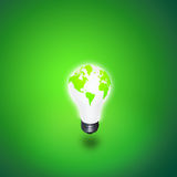 Het Licht van de aarde Royalty-vrije Stock Afbeelding