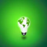 Het Licht van de aarde Stock Foto