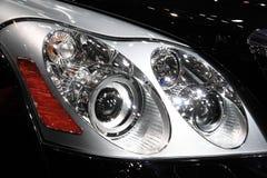 Het licht van de auto Stock Afbeeldingen