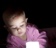 Het licht van de baby stock foto's
