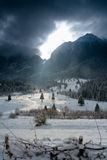Het licht van de berg Royalty-vrije Stock Foto