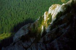Het licht van de berg royalty-vrije stock afbeelding