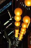 Het Licht van de cirkellamp Royalty-vrije Stock Fotografie
