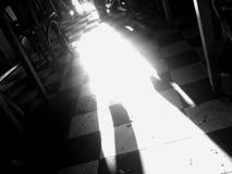 Het licht van de deur Royalty-vrije Stock Foto's