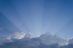 Het licht van de hemel Stock Afbeeldingen