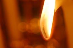 Het licht van de kaars Royalty-vrije Stock Afbeeldingen
