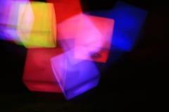 Het licht van de kubus Royalty-vrije Stock Foto's
