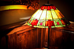 Het licht van de lamp Stock Afbeelding