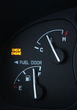 Het Licht van de Motor van de controle Stock Foto