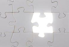 Het licht van de puzzel Stock Afbeelding