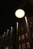 Het licht van de stad stock afbeelding