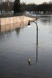 Het licht van de vloed stock foto