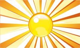 Het licht van de zon Stock Fotografie