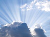 Het licht van de zon Royalty-vrije Stock Afbeeldingen