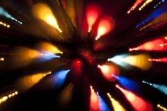 Het licht van Defocused Stock Afbeeldingen
