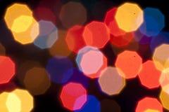 Het licht van Defocused Royalty-vrije Stock Afbeeldingen