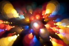 Het licht van Defocused Stock Foto's