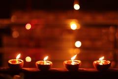 Het licht van het Helderste Festival Diwali royalty-vrije stock foto