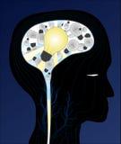 Het Licht van het idee vector illustratie