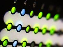 Het licht van het netwerk Stock Foto's