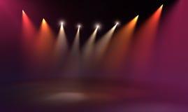 Het licht van het stadium Royalty-vrije Stock Foto