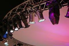 Het licht van het stadium Stock Foto's