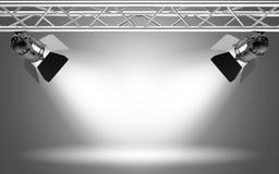 Het licht van het stadium royalty-vrije stock afbeeldingen