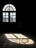 Het licht van het venster Stock Foto