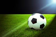 Het licht van het voetbal Stock Foto's