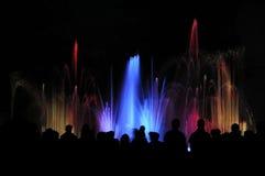 Het licht van het water toont Stock Foto's