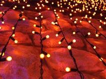 Het licht van Kerstmis Royalty-vrije Stock Fotografie