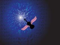 Het licht van muziek Stock Afbeelding
