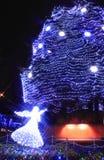 Het licht van spectakel in Sendai Stock Foto