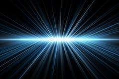 Het licht van stralen Stock Foto's