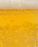 Het lichte bier is in glas Stock Fotografie