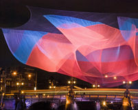 Het Lichte Festival van Amsterdam Stock Foto's