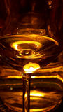 Het lichte glanzen door Glasbezinningen Royalty-vrije Stock Afbeeldingen