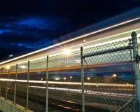 Het lichte Licht van het Spoor Stock Foto's
