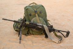 Het lichte machinegeweer Stock Afbeeldingen