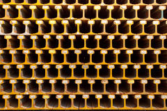 Het lichte Staal van het Spoor. Stock Afbeeldingen