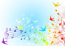 Het lied van de lente Royalty-vrije Stock Afbeeldingen
